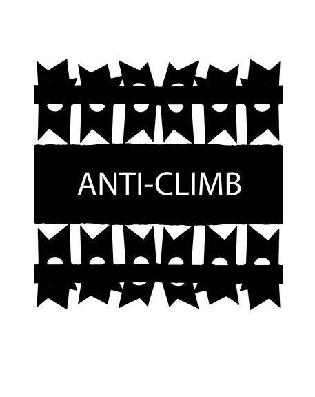 anti-climbs